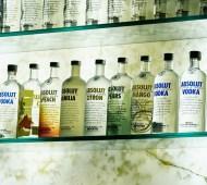 Vodka Absolut Bar