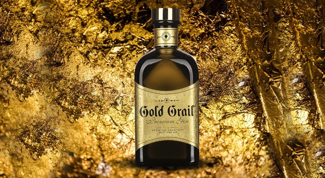 Gold Grail Gin Portugal