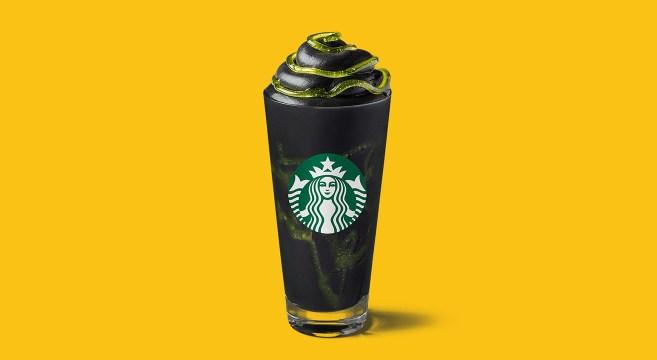 Starbucks Phantom Frapuccino Halloween
