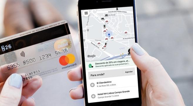 Mastercard Uber App