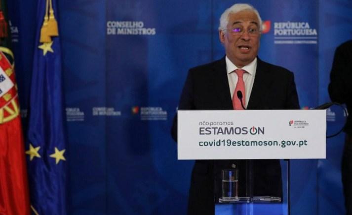 António Costa e o Estado Calamidade ©TVI