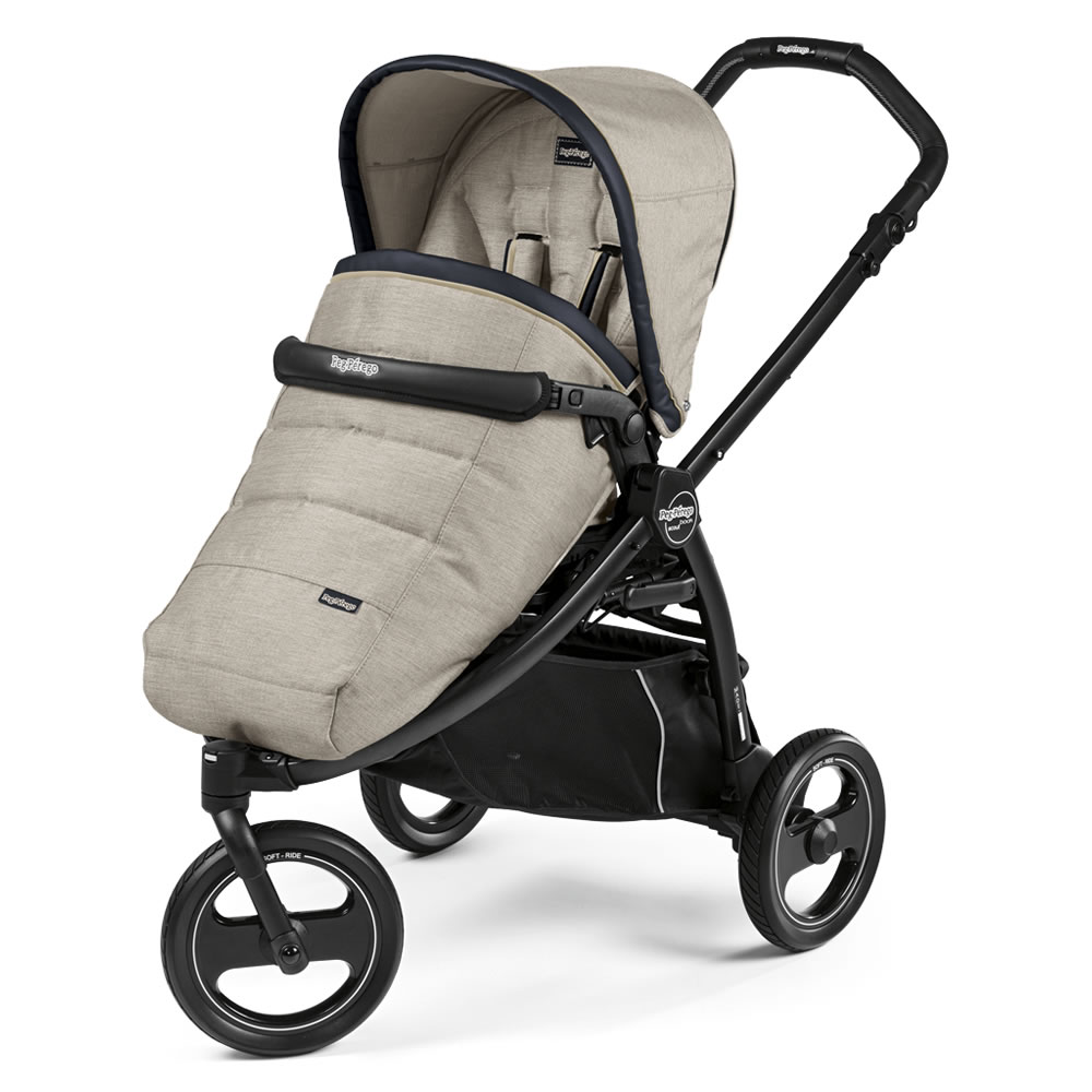 Peg Perego Book Scout Pushchair Luxe Beige 9665d05e9f