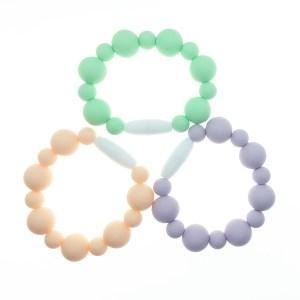 Pastel Colors Silicone Fidget Bracelets