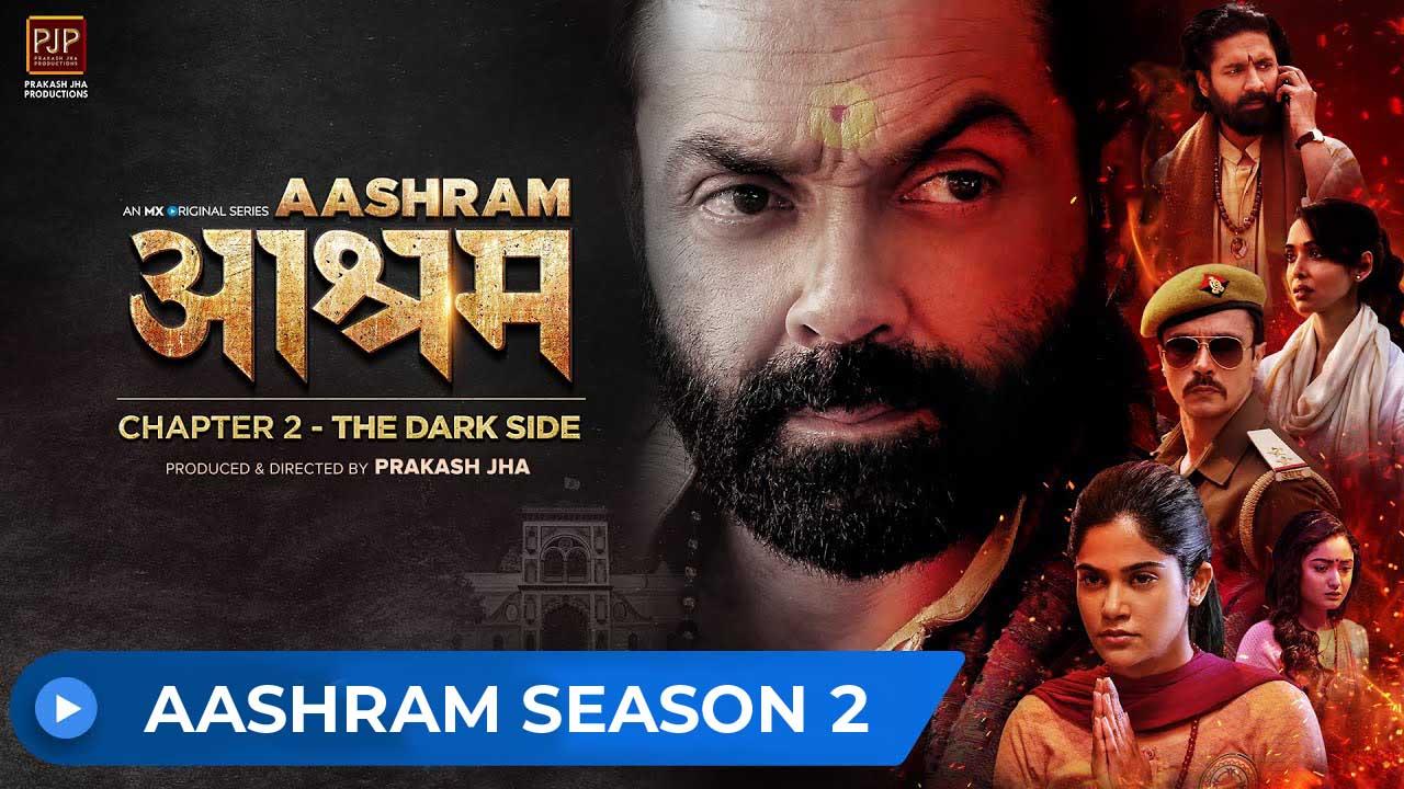 Aashram 2020 banner HDMoviesFair