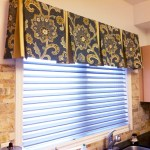 Modern Valance Top Treatment For Windows Trendy Blinds