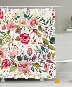 shabby chic shower curtains trendy