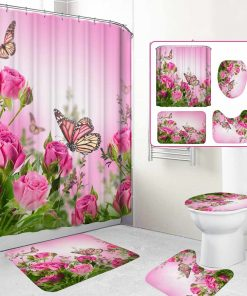 butterfly shower curtains trendy curtains