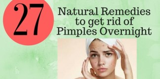 get rid of pimples overnight