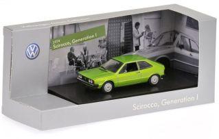 8-Scirocco, Generation II, Viper Green Metallic, (1974)
