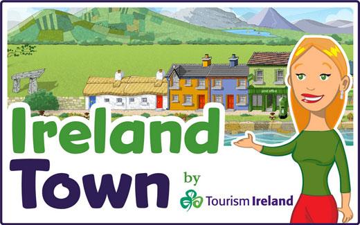 Ireland Town social game on Facebook