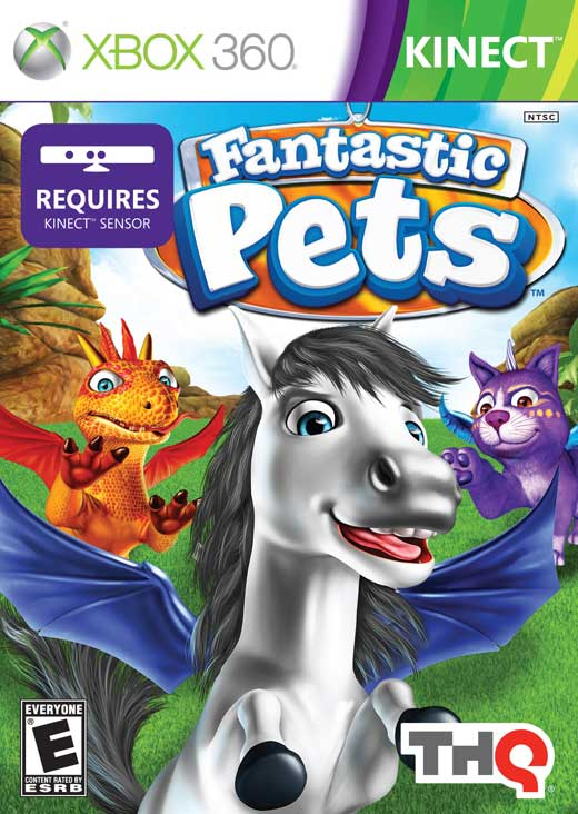 Fantastic Pets Video Game from THQ