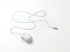 """rinkak"" computer mouse from ELECOM / by nendo"
