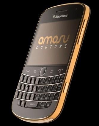 Amosu 24 Carat Gold BlackBerry 9900