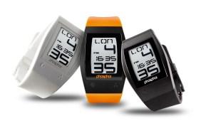 Phosphor World Time Sport E Ink Digital Watch