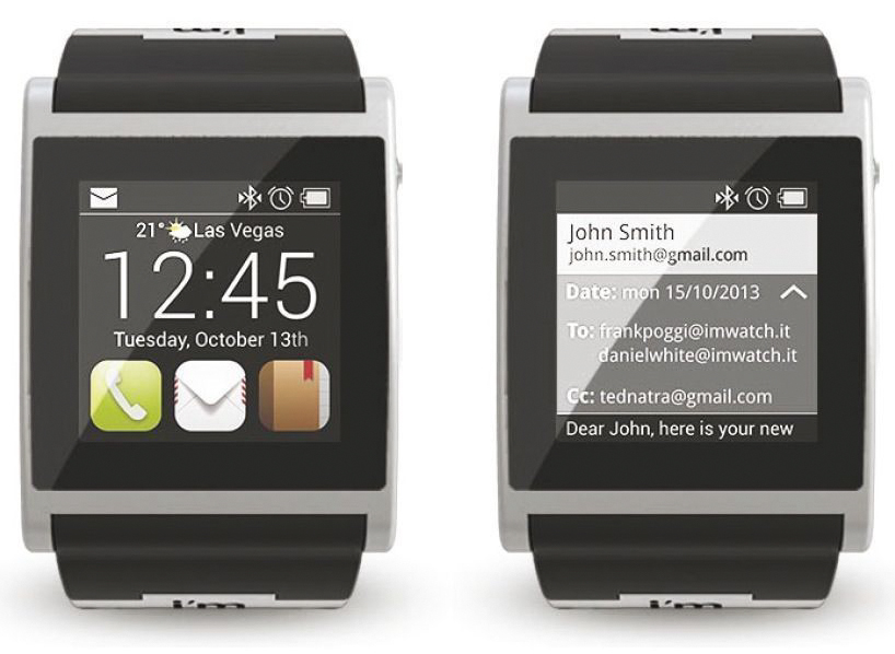 smartwatch for iPhone and Android