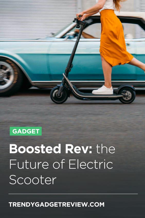 Boosted Rev, Electric Scooter