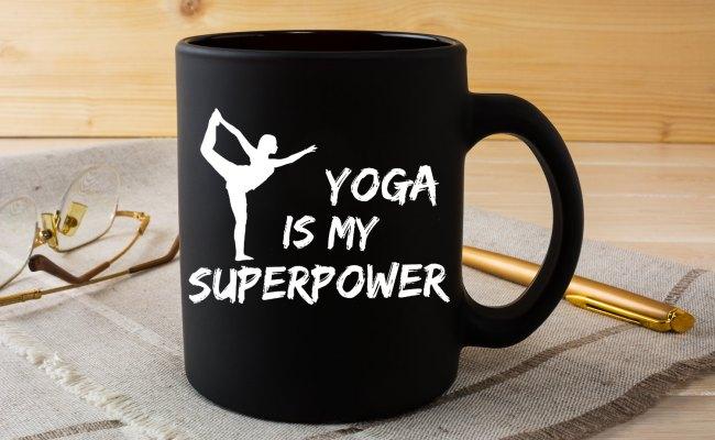 Funny Yoga Mug This Superpower Mug Is Perfect Yoga Gift