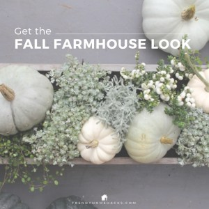 Fall Farmhouse Chic Interior Décor