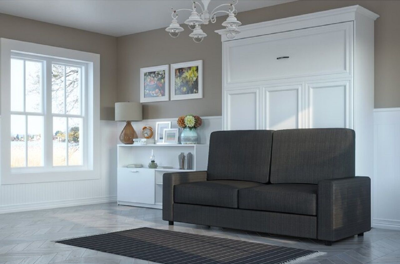 best murphy beds with couch and sofa