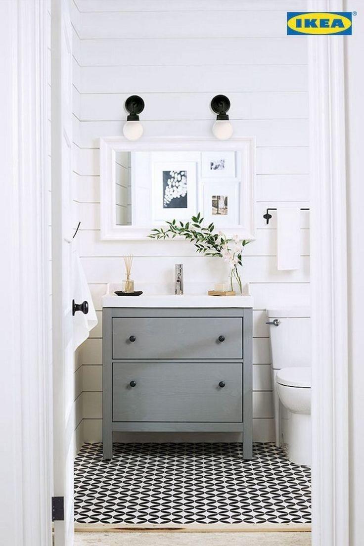 Bathroom Vanities Ikea 72 Farmhouse Powder Room Ideas Farmhouse Room Trendyideas Net Your Number One Source For Daily Trending Ideas