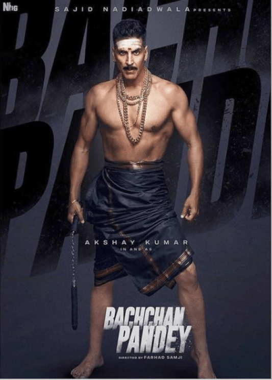 akshay kumar bachchan pandey, Akshay Kumar movie Bachchan Pandey, Bachchan Pandey Akshay Kumar Movie, Bachchan Pandey cast, Bachchan Pandey Movie 2021, Bachchan Pandey movie cast, Bachchan Pandey movie download, Bachchan Pandey movie release date, bachchan pandey movie review, Bachchan Pandey plot, bachchan pandey poster, bachchan pandey remake of which movie, Bachchan Pandey starrer Akshay Kumar Kriti Sanon, pankaj tripathi movies