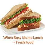 fresh food slider
