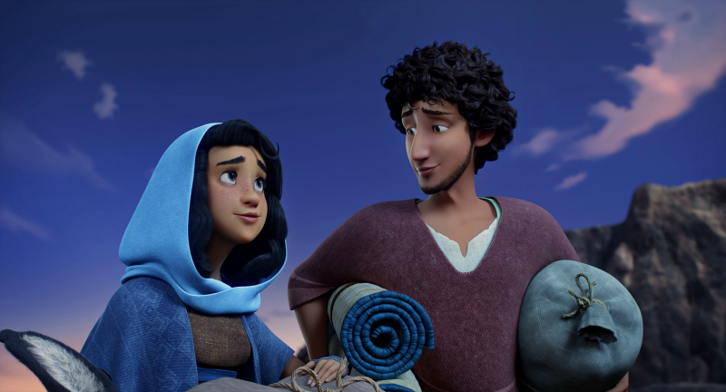 Joseph and Mary In the Movie The Star