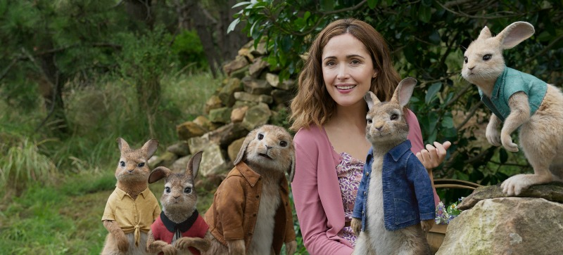 Bia and the Rabbits of Peter Rabbit
