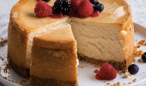 delicious cheese cake