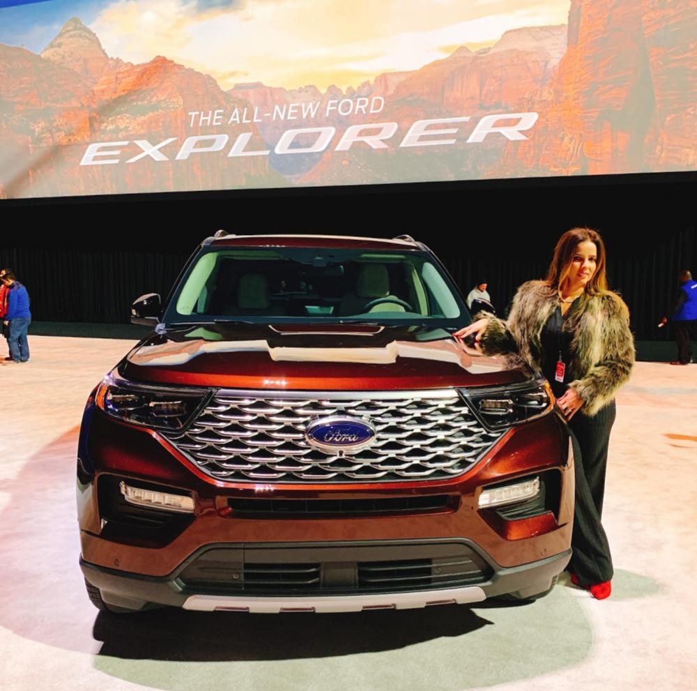 Ford Explorer Event in Detroit