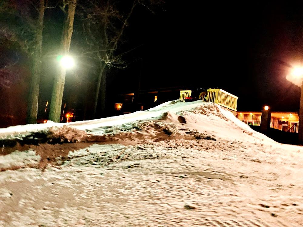 Snow tubing at Woodloch