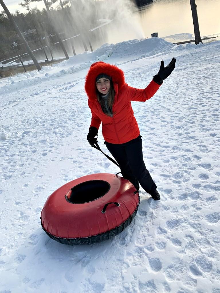 Snow Tubing in the Poconos