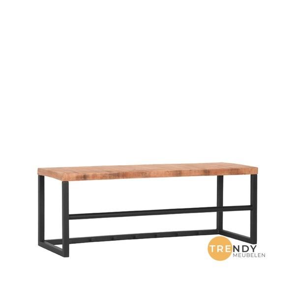 Kapstok Swing Rough Mangohout Zwart Metaal 80x30x30 cm Perspectief 1