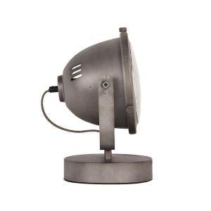 lamp multifunctional burned steel metaal 31x23x33 cm zijkant
