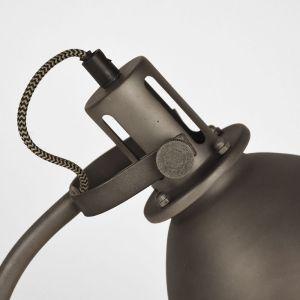 tafellamp spot burned steel metaal 18x59x27 cm detail 2 1