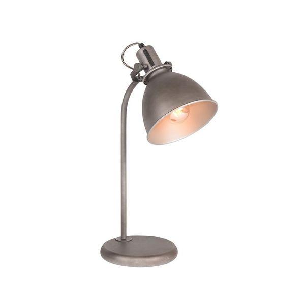 tafellamp spot burned steel metaal 18x59x27 cm perspectief aan