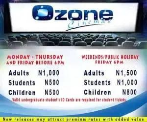 ozone cinema ticket prices