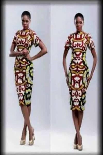 ankara pencil gown