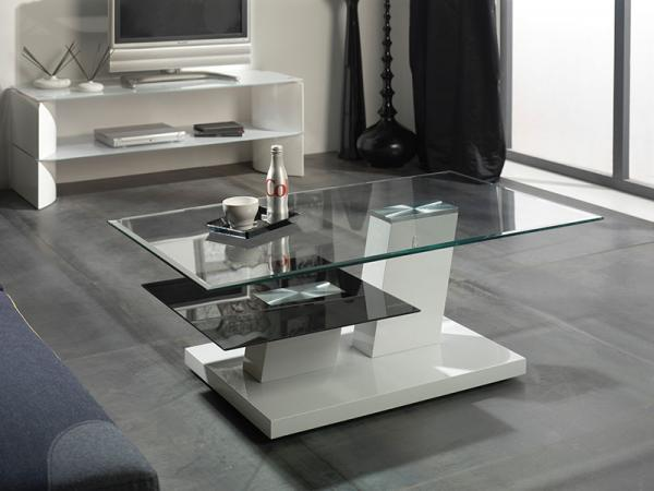 modern glass coffee tables trendy