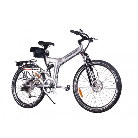 X-Cursion Lithium Powered Foldable Electric Bicycle