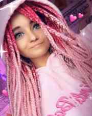 trendy box braids black women
