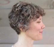 stylish short curly hair styles