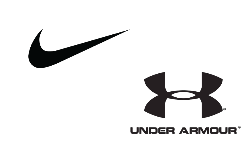 Nike & Under Armour logo