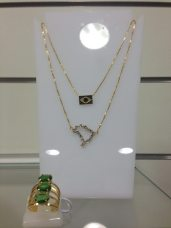 Trendy Store_Colares Brasil e anel pedras cristal lapidado