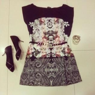 Trendy Store_Vestido floral corte A