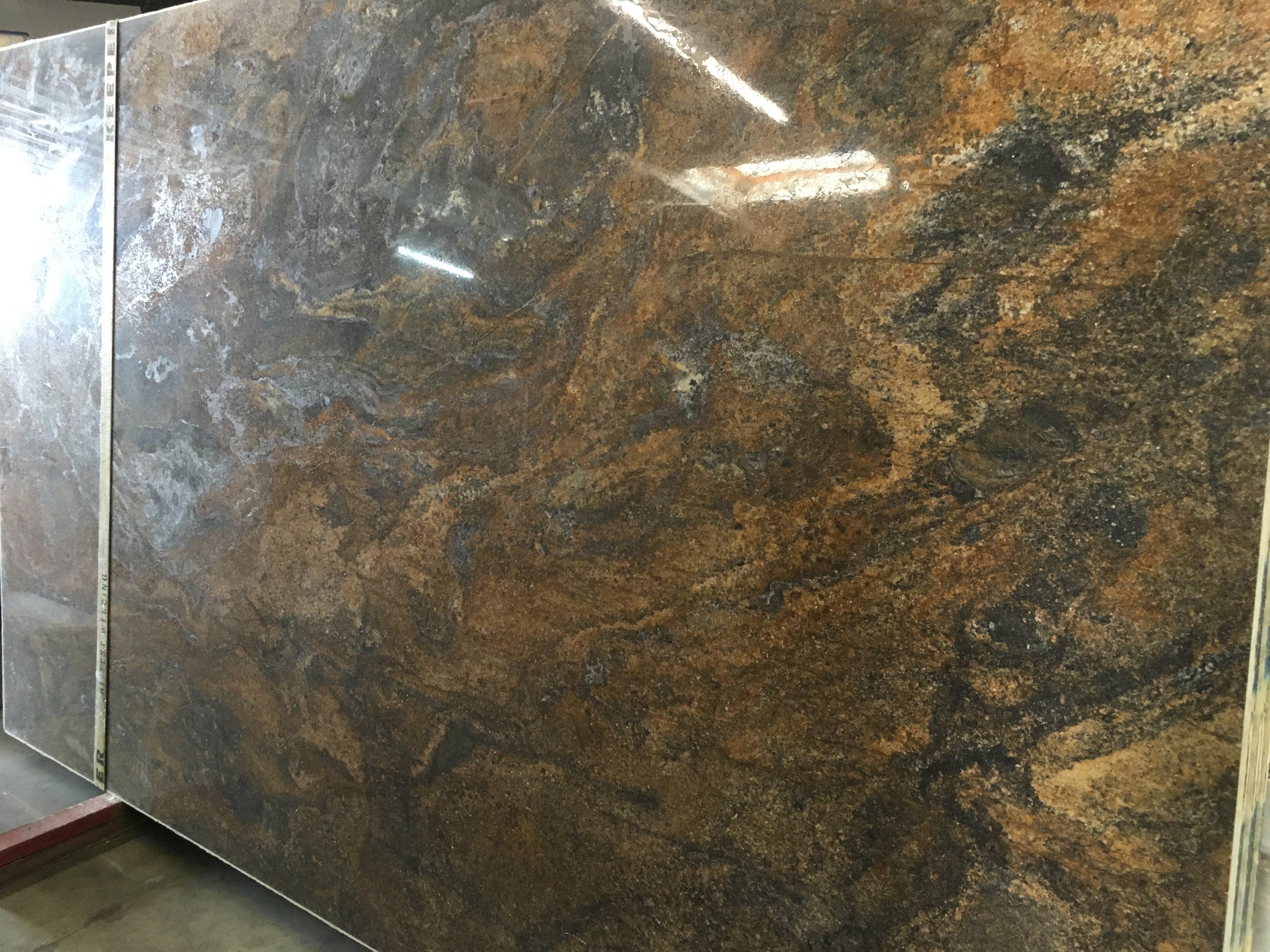 Lava Vecchia Polished Granite Slab Trendy Surfaces