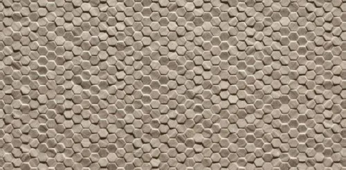TS467076  12X24 HEXAGON DECO TILE (11.65 sqft per box)