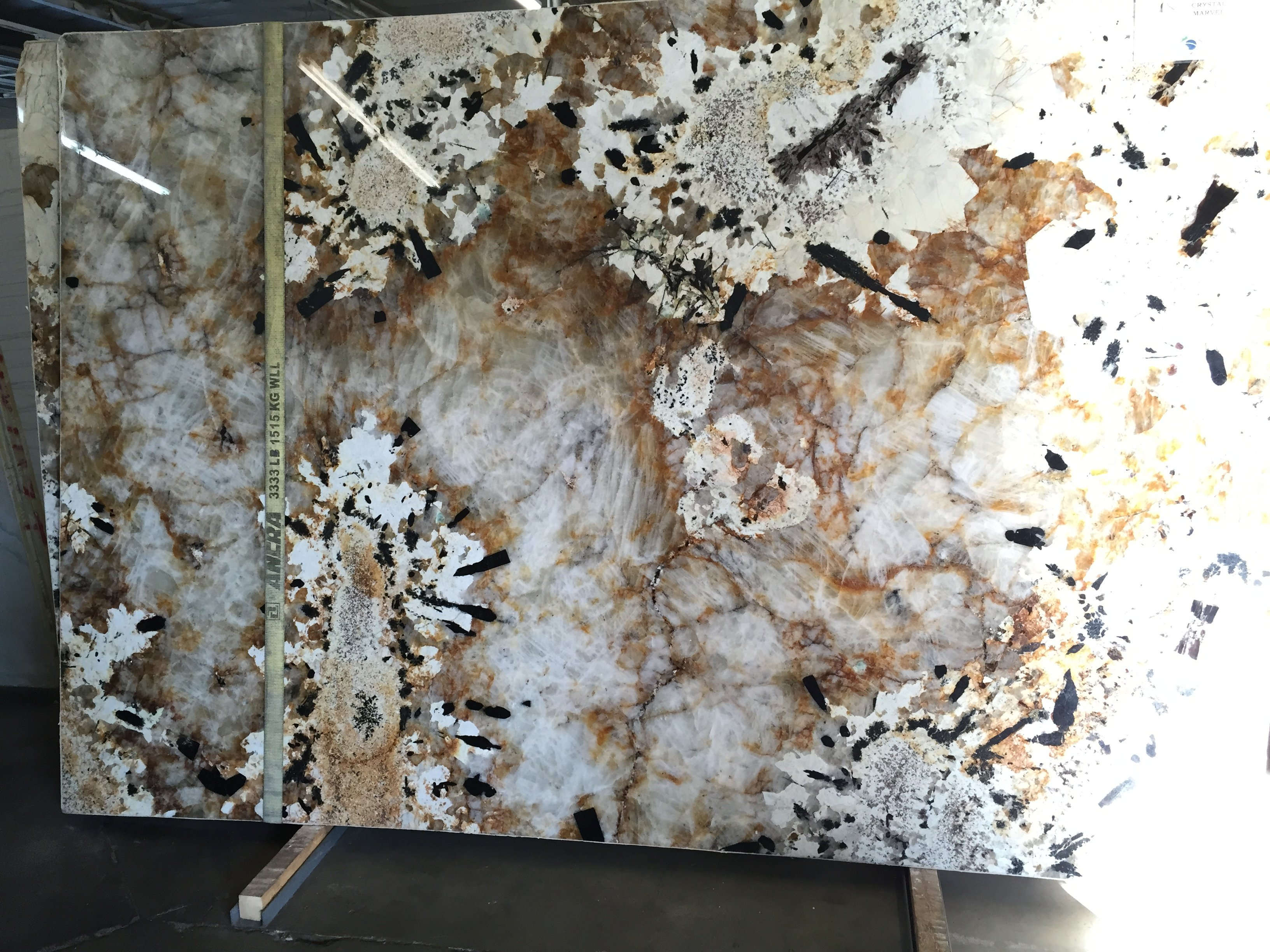 Crystalline Stone Slabs : Crystal marvel polished granite slab trendy surfaces