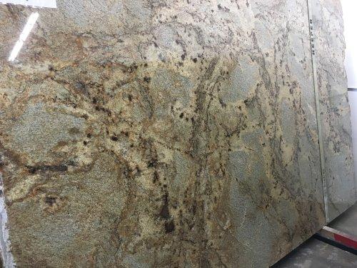 Golden Crystal Polished Granite Slab