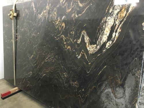Titanium Polished Granite Slab